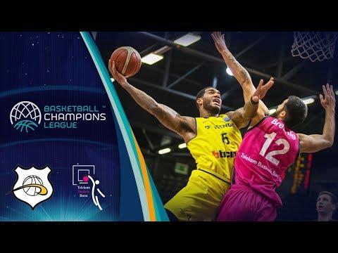 Oostende v Telekom Baskets Bonn - Full Game - Basketball Champions League 2017-18