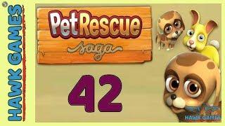 Pet Rescue Saga Level 42 Extra Hard - 3 Stars Walkthrough, No Boosters