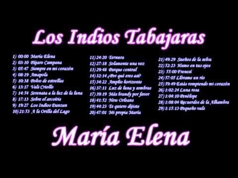 INDIOS TABAJARAS, Ídolos de la música latina 30 temas.