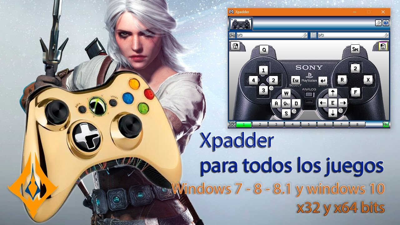 xpadder 64 bits windows 8