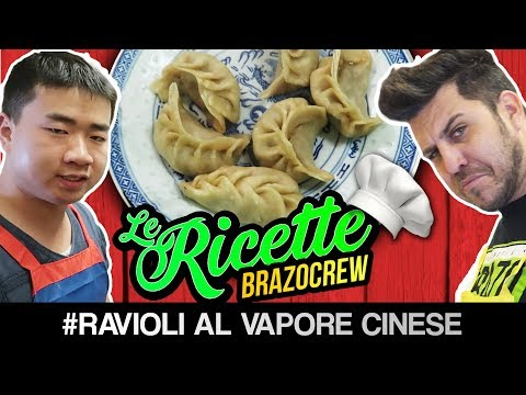 DI NOTTE AL RISTORANTE CINESE - RAVIOLI AL VAPORE CINESE - LE RICETTE DI BRAZOCREW