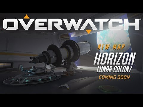 [NOW PLAYABLE] Horizon Lunar Colony | New Assault Map | Overwatch