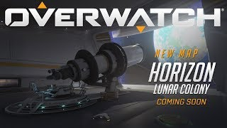 [NOW PLAYABLE] Horizon Lunar Colony | New Map Preview | Overwatch thumbnail