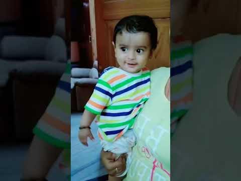 9 month old baby dance dil chori sada ho gya