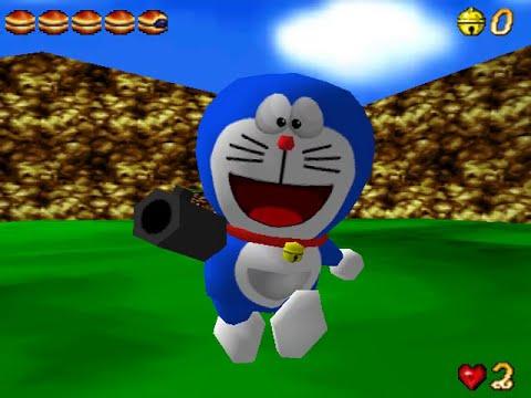 Doraemon: Nobita to 3 Tsu no Seireiseki (ドラえもん のび太と3つの精霊石) N64 Longplay