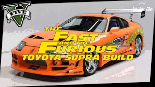 THE FAST & THE FURIOUS TOYOTA SUPRA MOVIE CAR BUILD TUTORIAL: GTA V (JESTER CLASSIC)