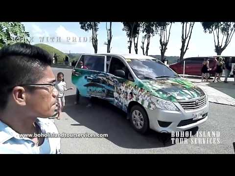 Bohol Island Tour Services Offers Bohol Car and Van Rentals for Island Tours