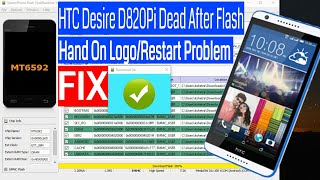 HTC Desire 820G/D820Pi Dead After Flash/Hang On Logo Recover Repair Done Resimi