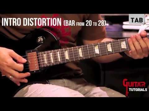 Enter Sandman (Metallica) - Rhythm - Guitar Tutorial with Matt Bidoglia