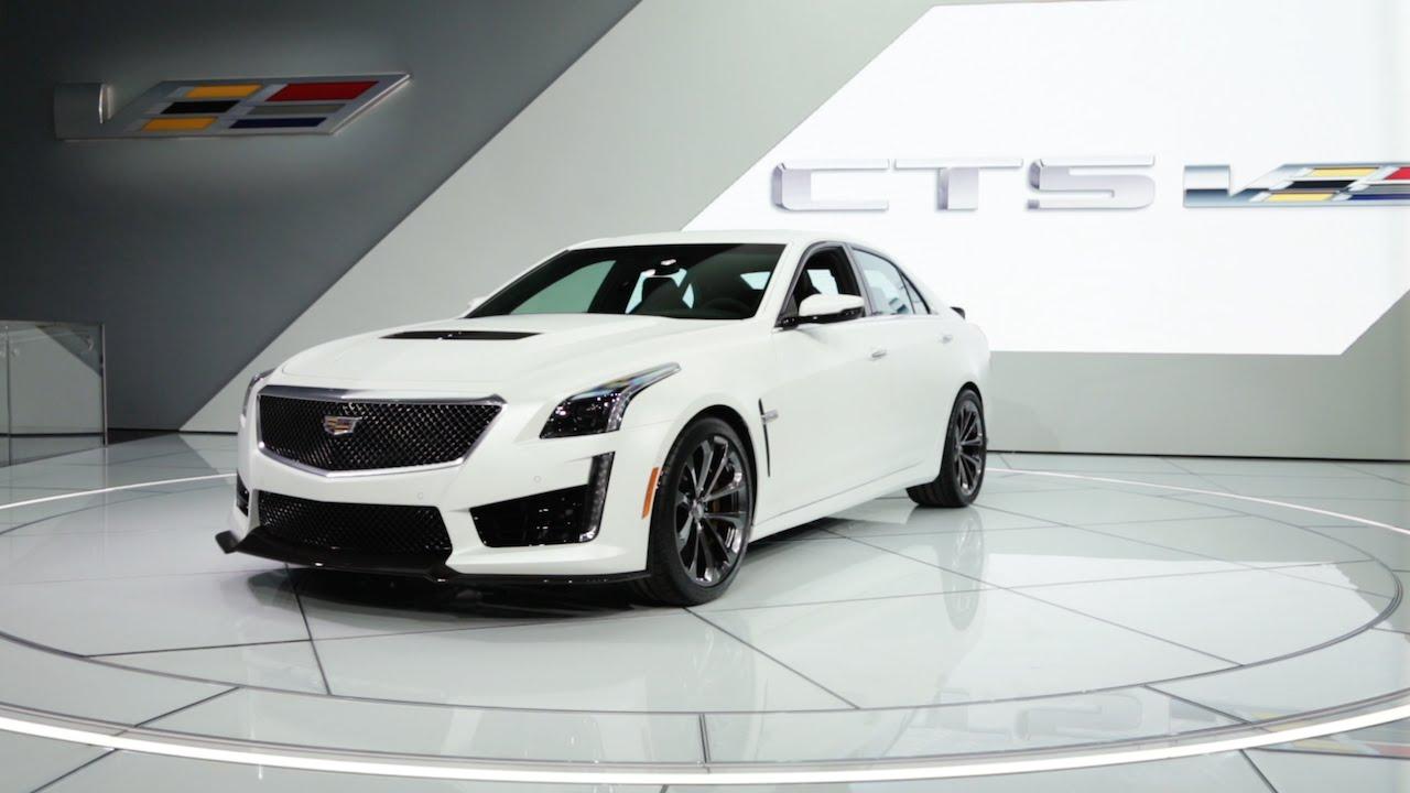 2016 Cadillac Cts V 2015 Detroit Auto Show Youtube
