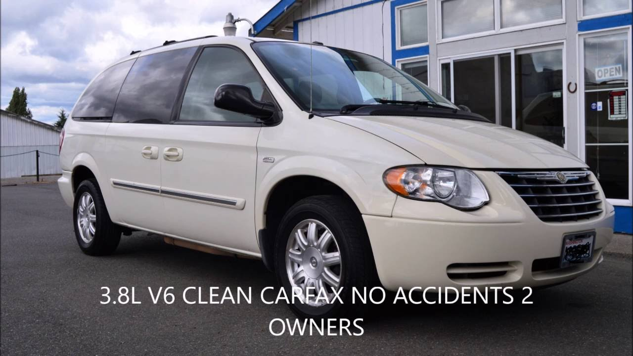 2007 chrysler town country touring v6 signature series. Black Bedroom Furniture Sets. Home Design Ideas