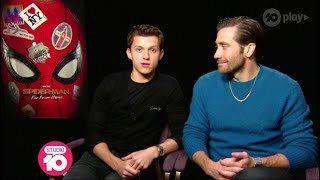 Tom Holland, Jake Gyllenhaal & Zendaya Talk 'Spider-Man: Far From Home'   Studio 10