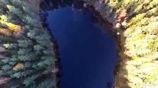 Озеро Мертвое. Одно из Голубых озер(В воде этого озера нет рыбы: слишком высока минерализация воды. Читайте проект Краина в журнале
