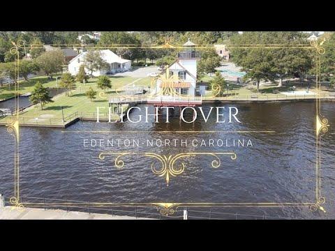 Flight Over - Edenton, NC