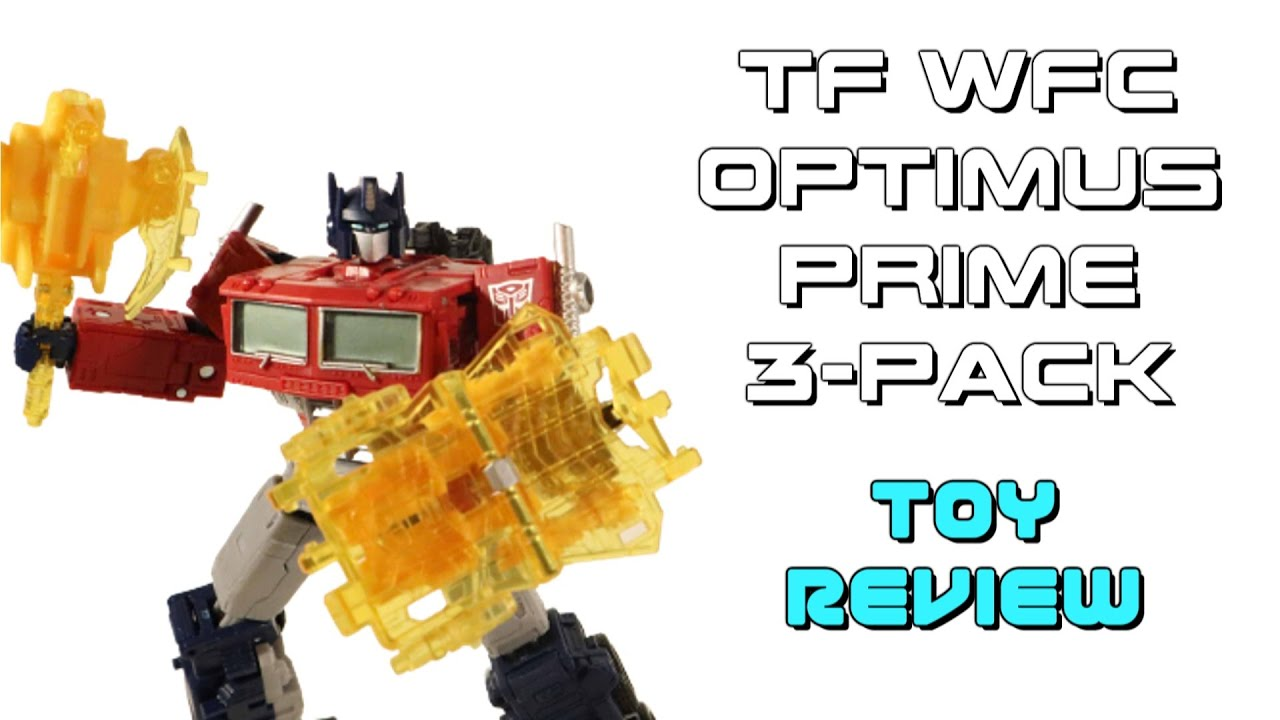Download Netflix Transformers WFC OPTIMUS PRIME 3-Pack - Neil Reviews Toys