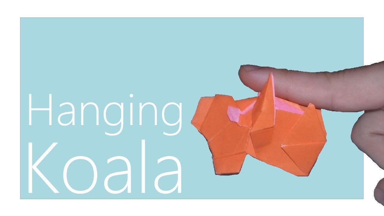 Hanging Koala Origami Tutorial Yoshihide Momotani