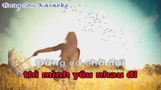 Hãy Nói Đi - Uyên Pím | Karaoke Beat tách