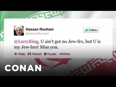 Iran's President Gives Jews More Twitter Love