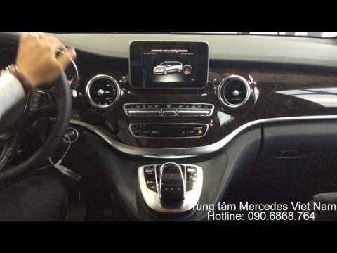 Hướng dẫn sử dụng settings của V220 CDI Avantgarde - Trung Tâm Mercedes-Benz Việt Nam