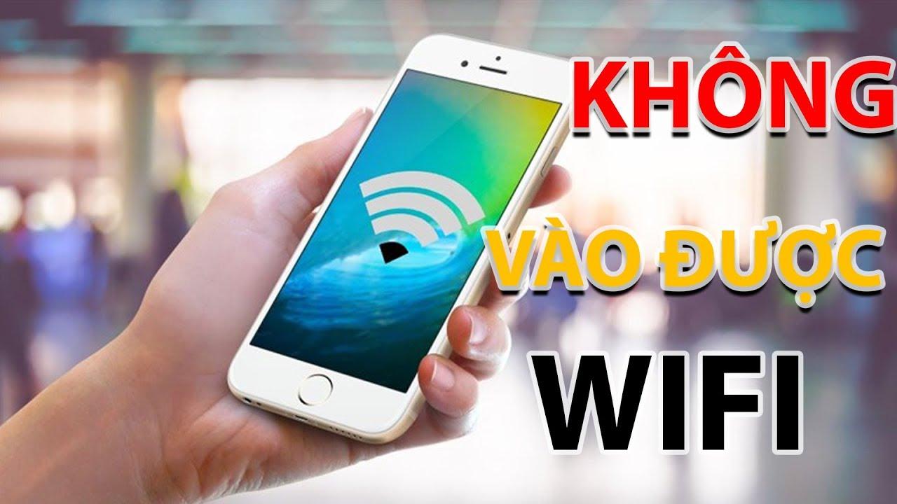 Bắt Bệnh Đoán Bệnh #13: Sửa iPhone Không Kết Nối Được Wifi