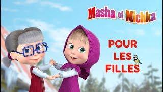 Masha et Michka - 👸 Pour les Filles 🌼 Meilleurs dessins animés pour les filles👸