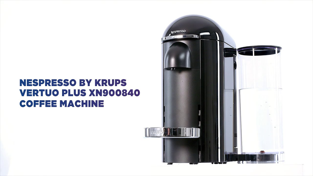 Nespresso By Krups Vertuo Plus Coffee Machine Featured Tech Currys Pc World