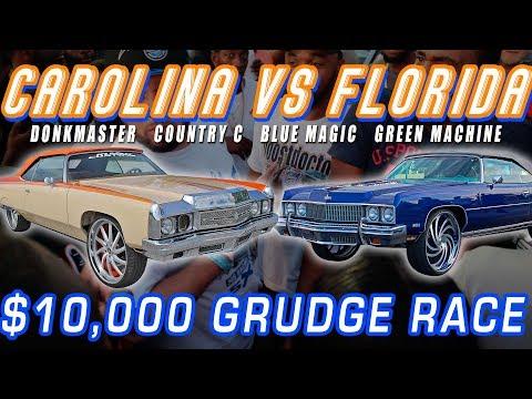 CAROLINA VS FLORIDA @ FAST & FLASHY 4: COUNTRY C VS BLUE MAGIC , GREEN MACHINE DONK RACING