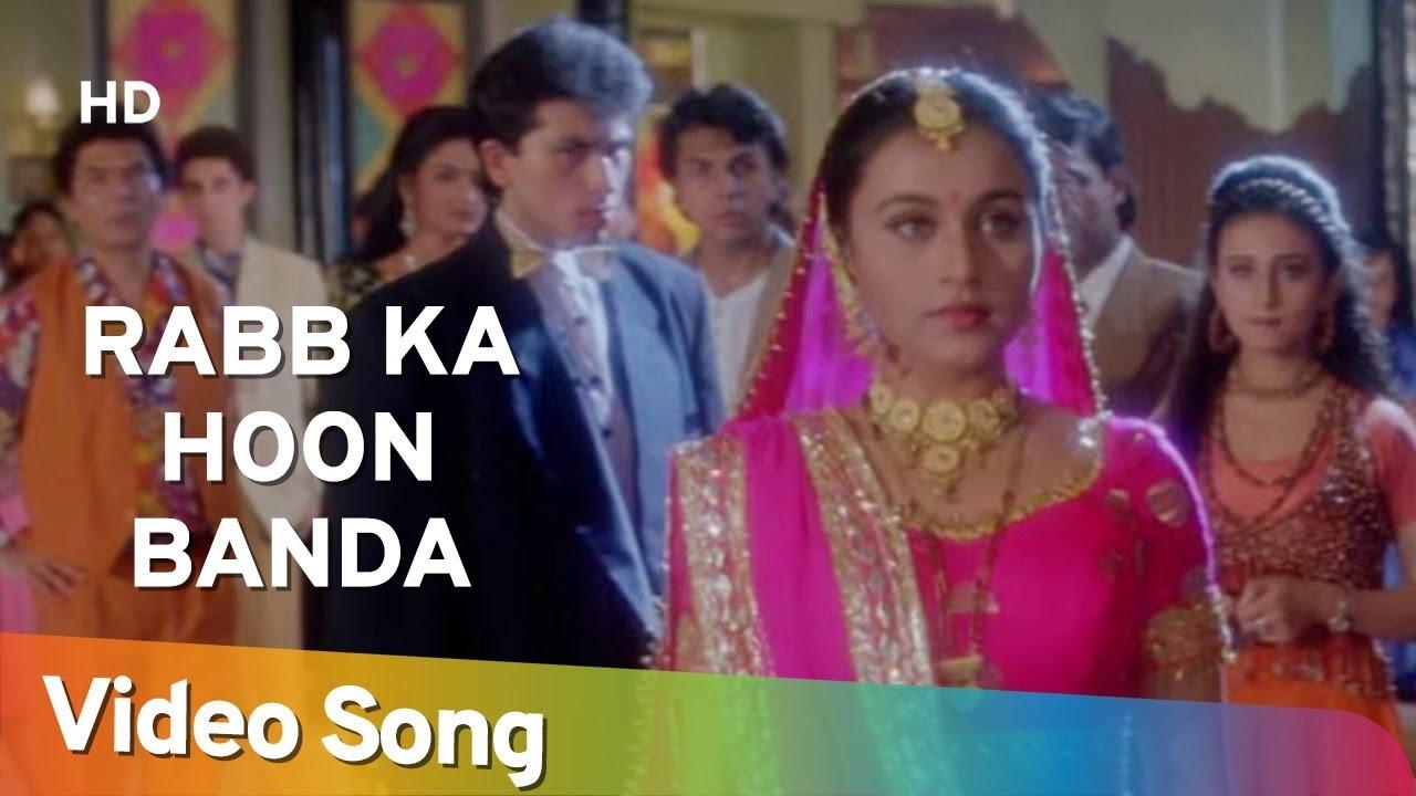 Download Rabb Ka Hoon Banda   Raja Ki Aayegi Baraat (1996)   Gulshan Grover   Rani Mukerji   Divya Dutta