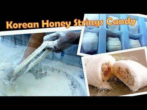How Its Made Korean 1600 Honey Strings Candy Dragon Beard Candy