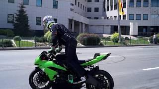 125 лет Новосибирску День города Шоу мотоциклистов