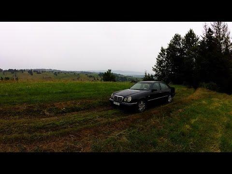 Mercedes W210 230E onboard navigation mistake offroad