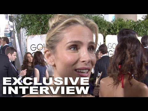 Golden Globes Elsa Pataky Exclusive Red Carpet Interview (Spanish)