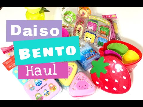 Daiso Bento Haul!! |My Moms Twin