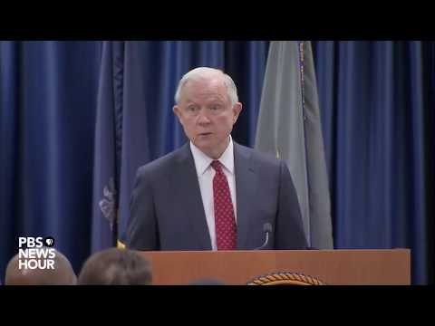 Attorney General Jeff Sessions discusses sanctuary cities laws