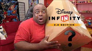 HUGE SURPRISE BOX FROM DISNEY! [Disney Infinity 3.0 Unboxing]