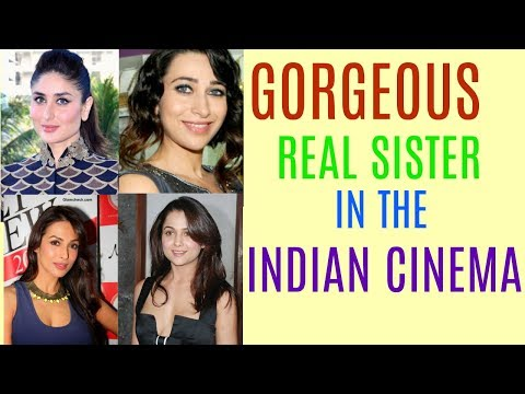 Gorgeous  Real Celebrity  Sisters In The Indian Cinema