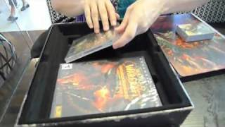 WoW Cataclysm Unboxing Collectors Edition World of Warcraft