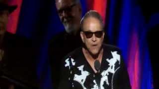 Jimmie Vaughan inducts Stevie Ray Vaughan at RRHOF concert