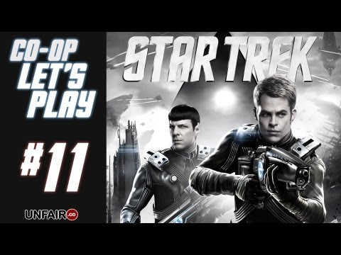 Let's Play Star Trek Co-Op #11 - Epic Struggle, Kirk vs Spock (HD PC Gameplay)