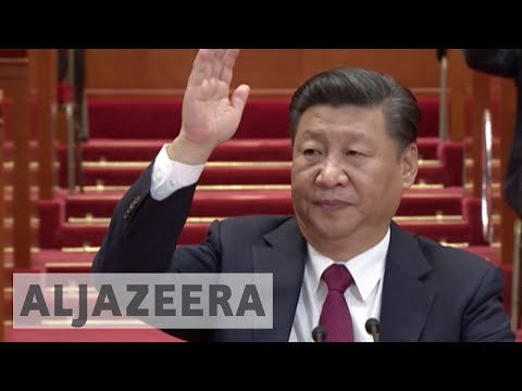 China's new leadership team revealed as Xi tightens grip on power
