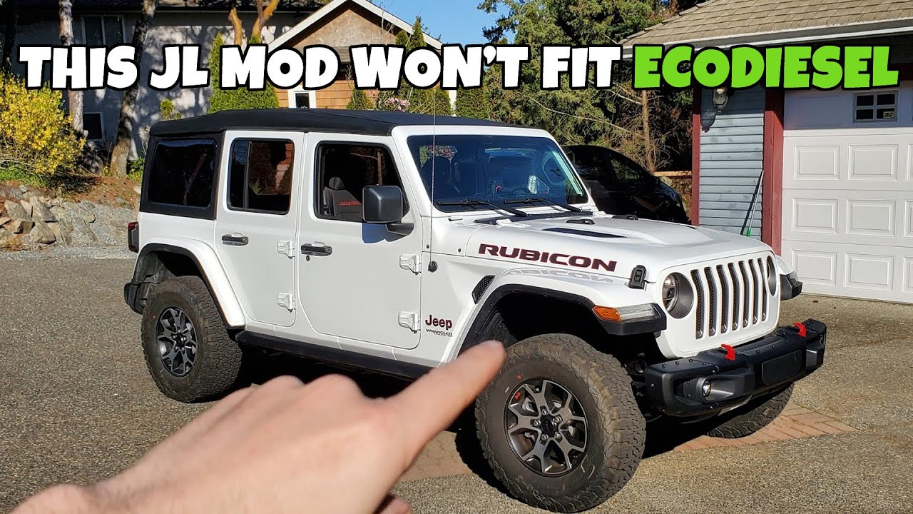 First Problem Trying To Mod My Ecodiesel 2020 Jeep Wrangler Jl