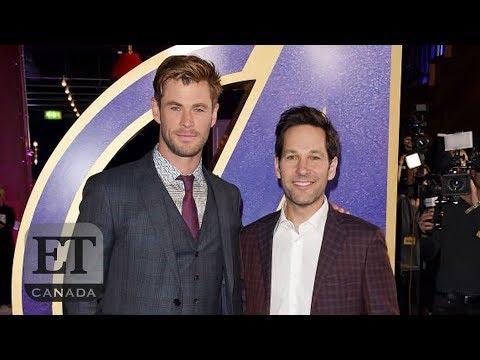 'Avengers: Endgame' UK Premiere With Paul Rudd, Chris Hemsworth, Scarlett Johansson