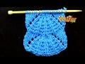 Cómo Tejer Punto PARASOL - Parasol Stitch - 2 agujas (392)
