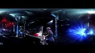 Muse - Space Dementia Live Reading 2011 (360° Matt Cam)