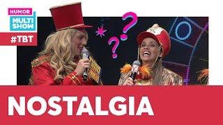 SAUDADES? As Paquitas RELEMBRAM os VELHOS TEMPOS   #TBT Tudo pela audiência   Humor Multishow