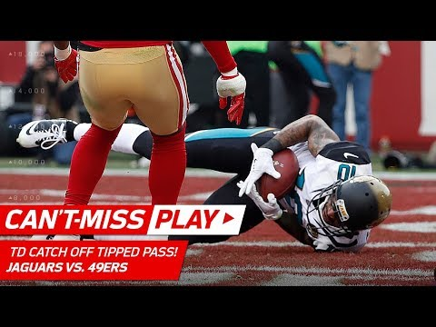 Jaelen Strong Catches TD Off Tipped Pass vs. San Fran! | Can't-Miss Play | NFL Wk 16 Highlights