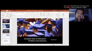 CUHK LAW Directions 2020 | European Laws on Education: Problems and Solutions