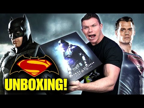 BATMAN v SUPERMAN: Dawn of Justice Hero Pack Unboxing!