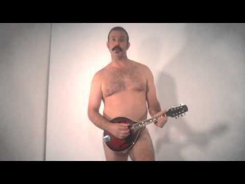 Sexy man sings happy birthday
