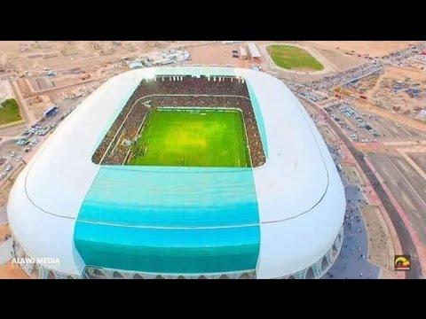 Karbala Stadium in Iraq ملعب كربلاء في العراق بطريقة عالمية HD